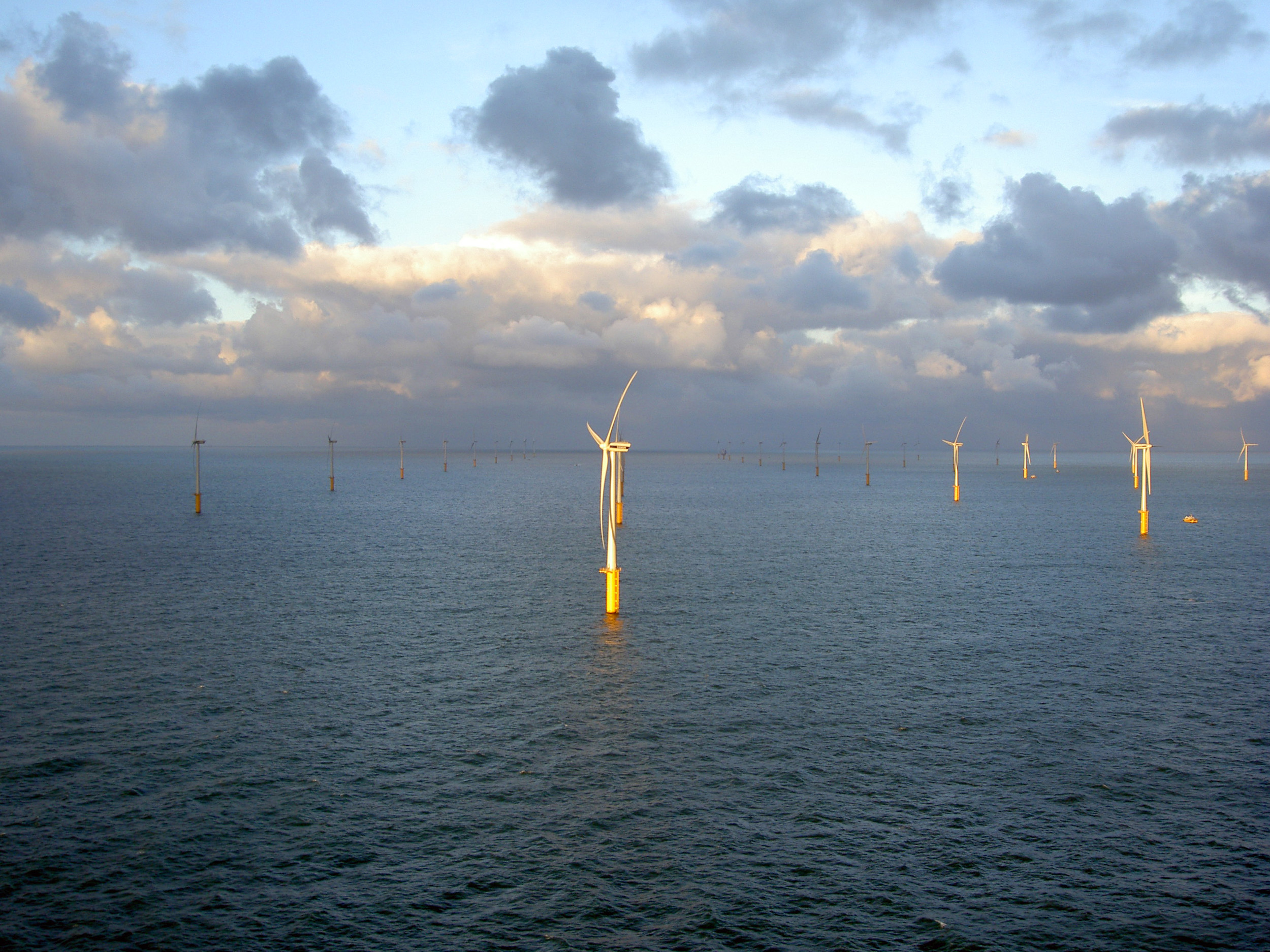 Undated illustration windmill Belwind - North Sea - RV-DOC