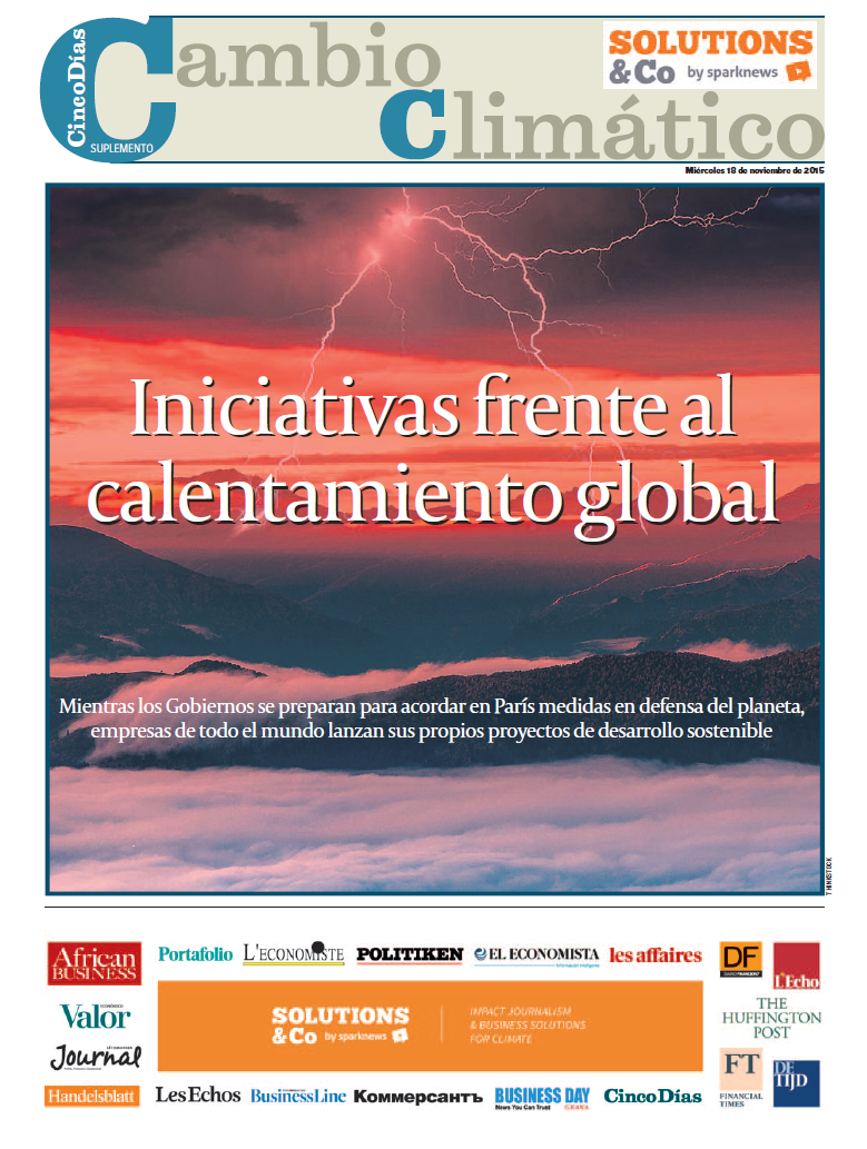 solutions&co sparknews cinco dias journal spain espagne media climate