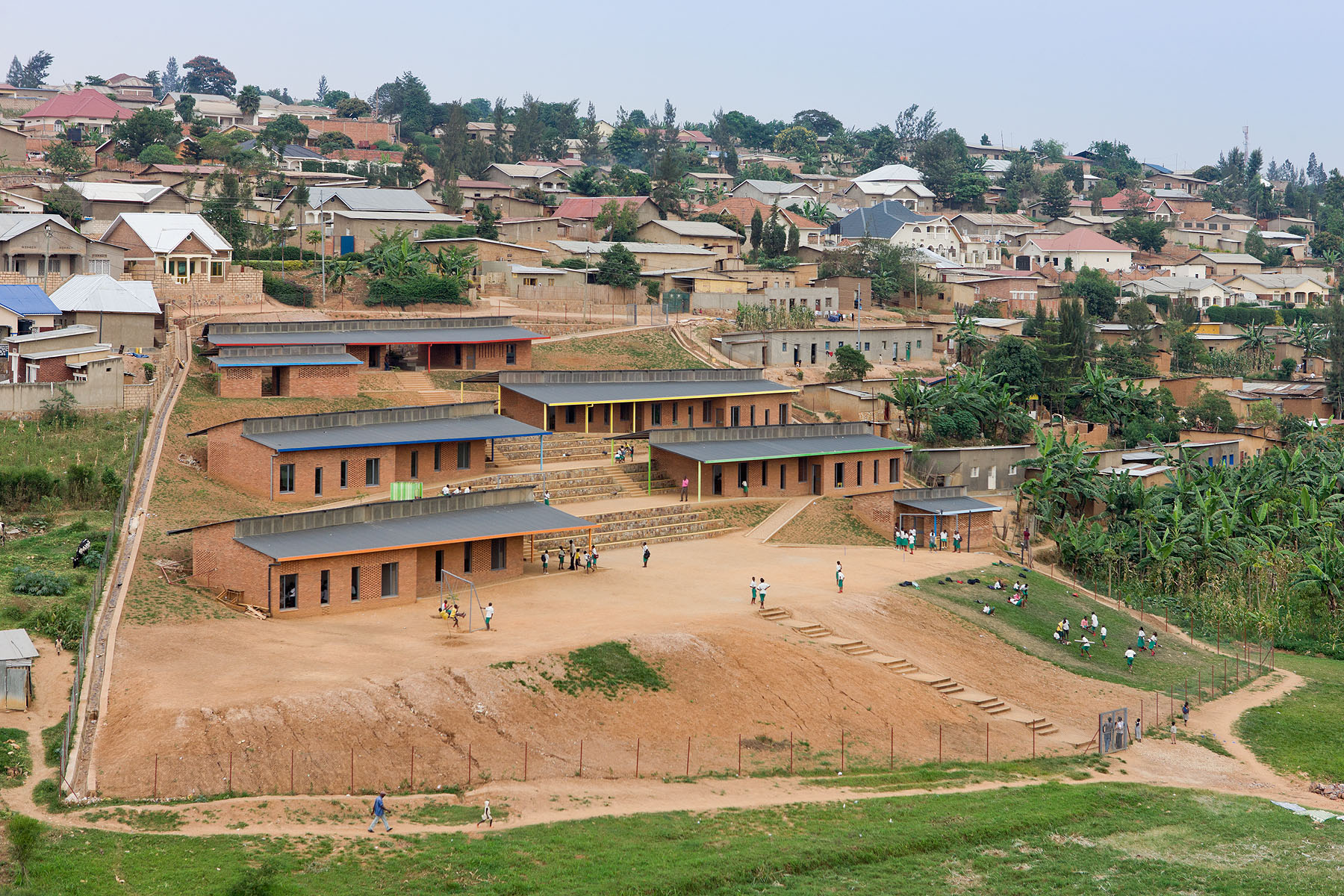 Sustainable architecture in Rwanda