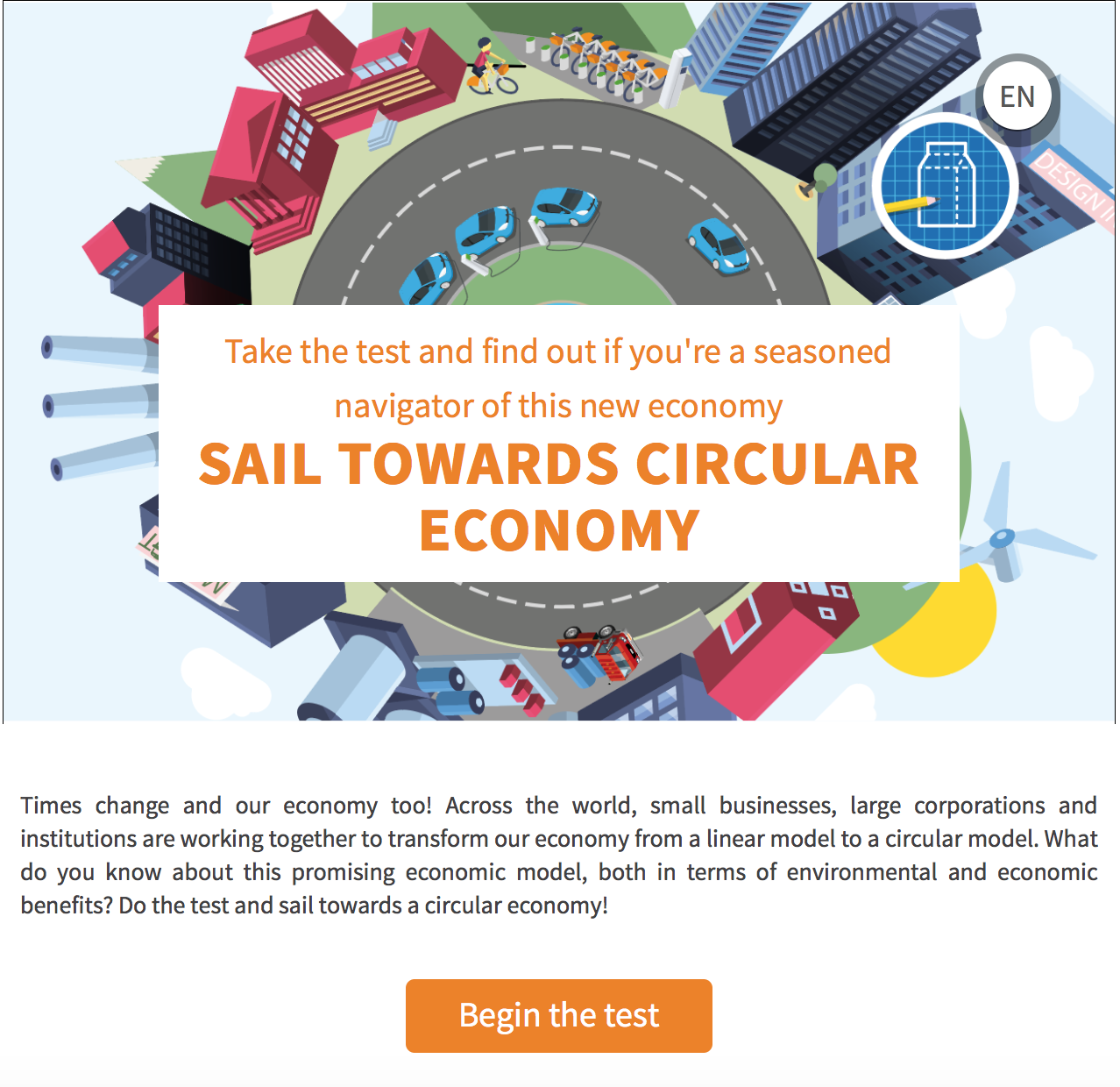 Test your knowledge on circular economy