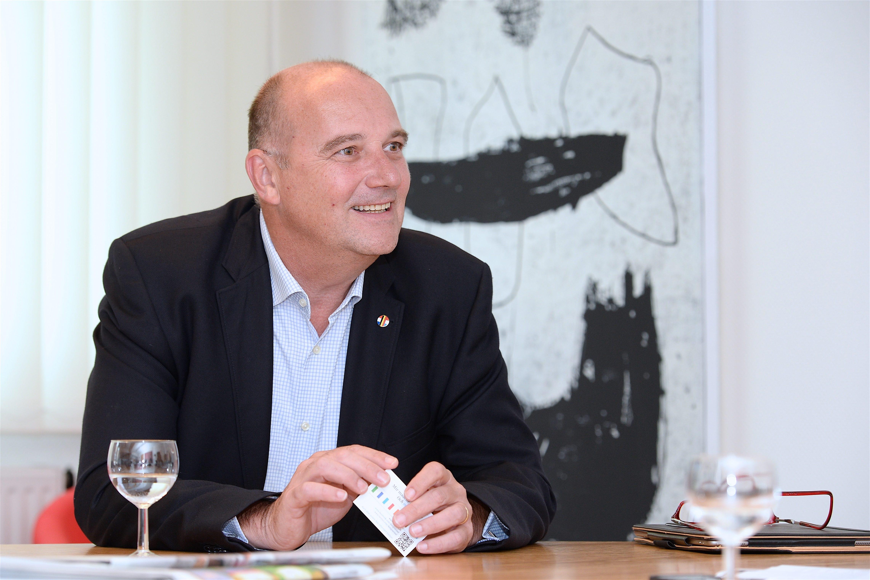 20170817. Portrait Alain de Muyser, secrétaire général adjoint du Benelux. Photo Julien Garroy