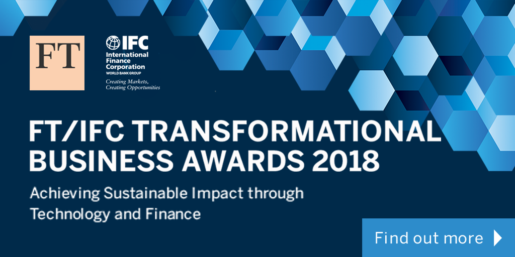 FT/IFC Transformational Business Conference and Awards Ceremony