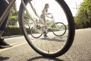 Green commuting has become a popular lifestyle in Chinese cities - Credits: Yicai Global