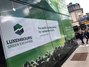 """The Luxembourg Stock Exchange has the """"Luxembourg Green Exchange"""", where half of the green bonds of the planet are listed - Credits: Edit Press"""