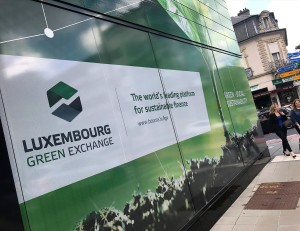 "The Luxembourg Stock Exchange has the ""Luxembourg Green Exchange"", where half of the green bonds of the planet are listed - Credits: Edit Press"