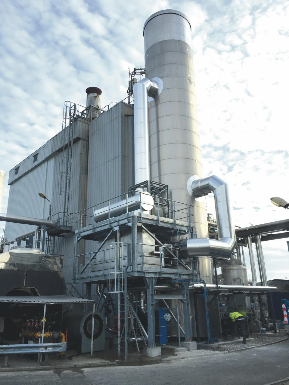 A Terraosave system installed in the boiler room of the Ajinomoto factory in Amiens - Credits: Terraosave